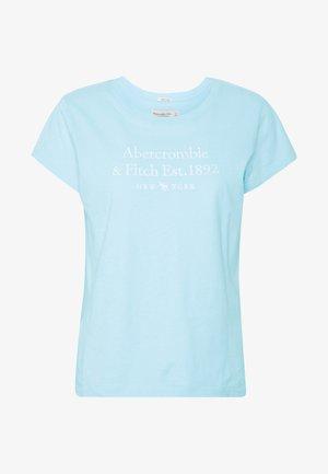 LONG LIFE LOGO  - Camiseta estampada - light blue