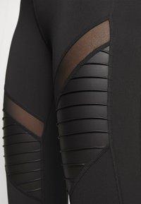 DKNY - MOTO - Leggings - black - 3