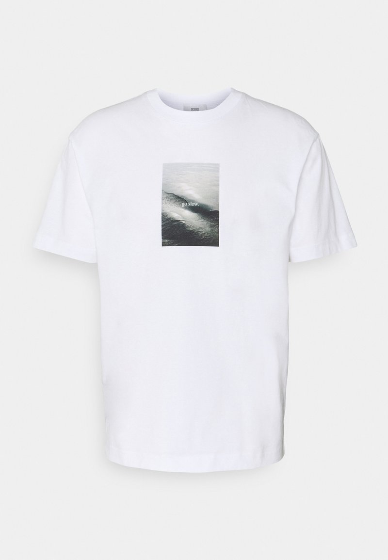 CLOSED - TEE - T-shirt con stampa - white