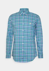 Košile - blue/pink multi