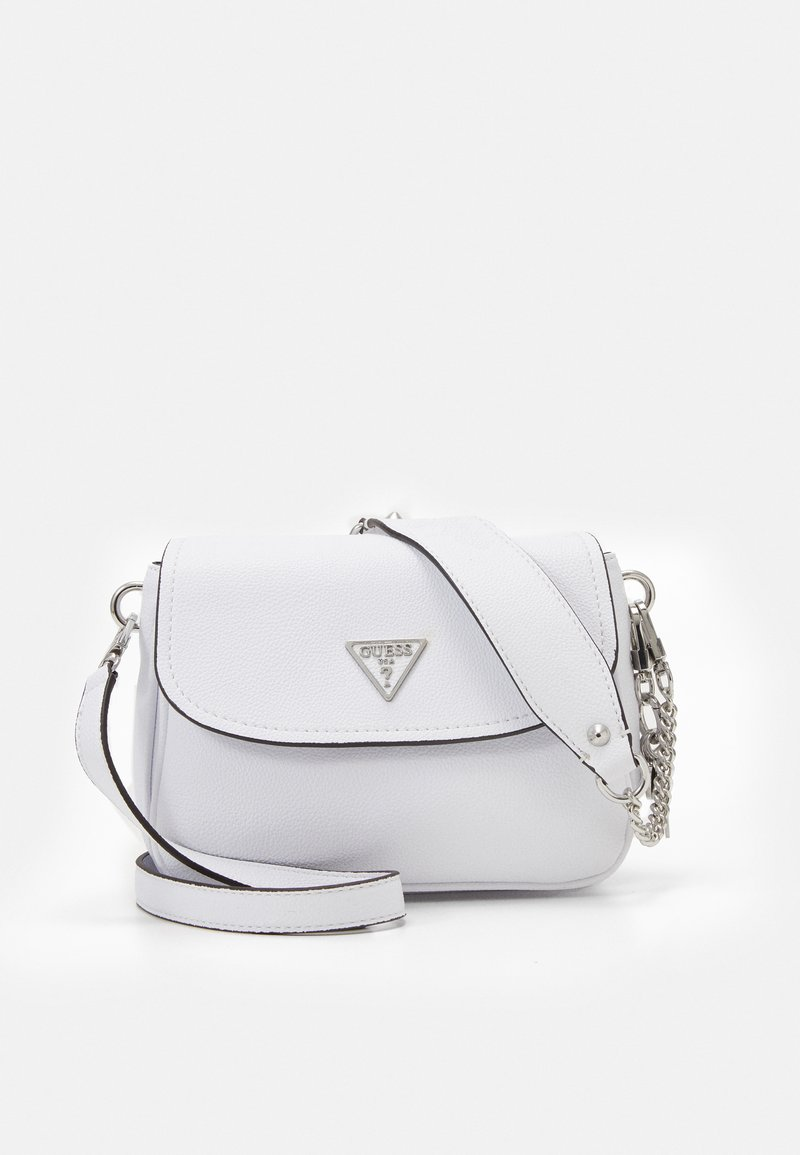 Guess - HANDBAG DESTINY SHOULDER BAG - Across body bag - white