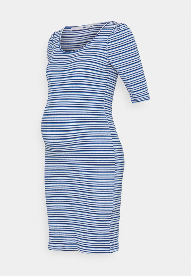 SHORT DRESS - Žerzejové šaty - victoria blue