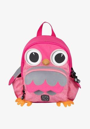 OWL SHAPE - Rucksack - pink melange