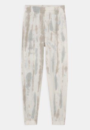 TIE DYE - Pantalones deportivos - light grey