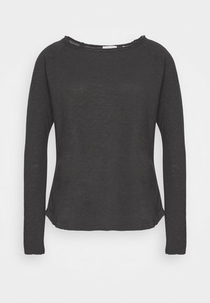 HEAVY LONGSLEEVE - Long sleeved top - charcoal