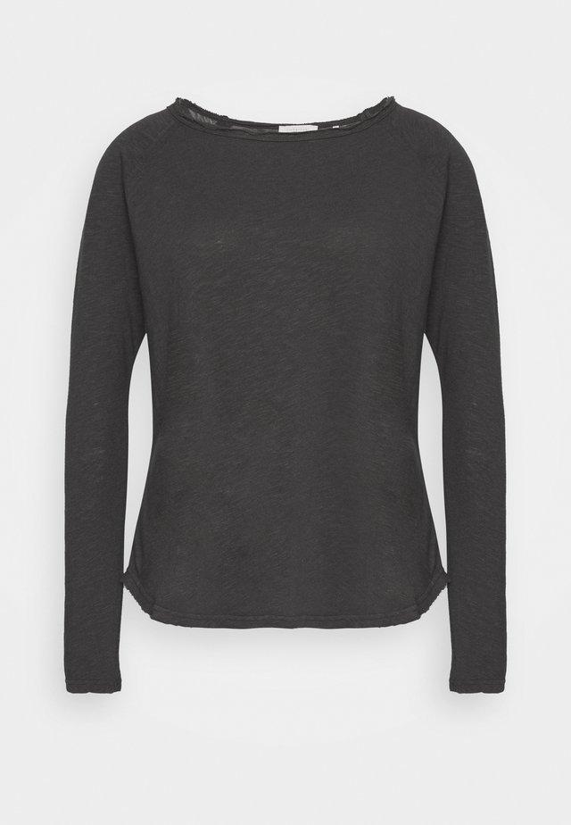 HEAVY LONGSLEEVE - Pitkähihainen paita - charcoal