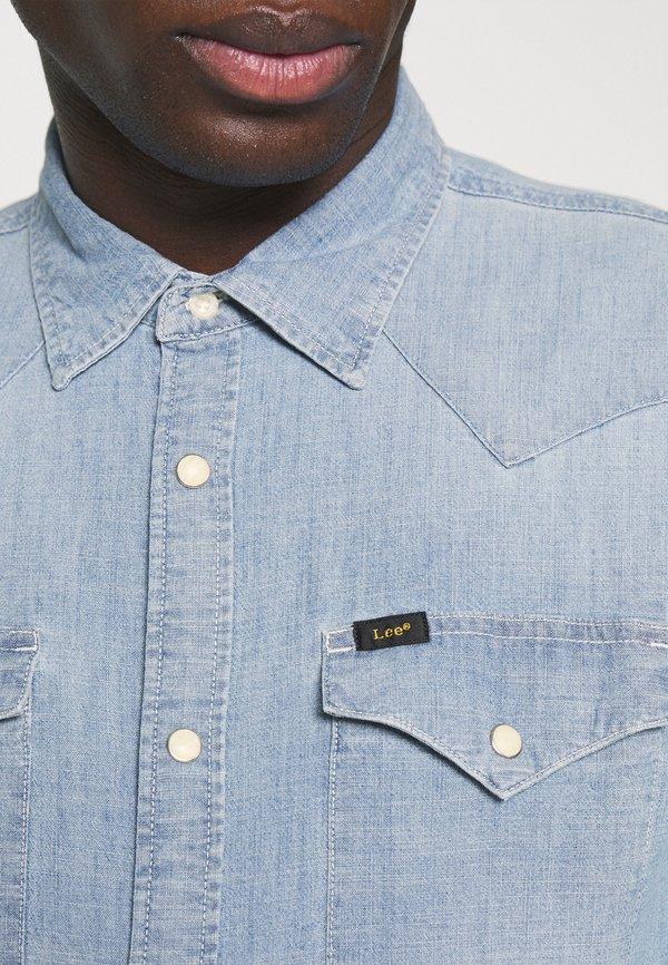 Lee WESTERN - Koszula - skyway blue/jasnoniebieski Odzież Męska LZAU