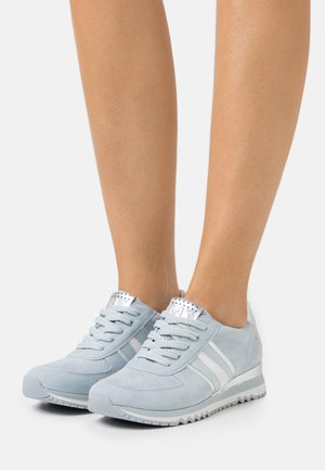 LACE UP - Trainers - light blue