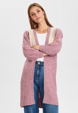 Cardigan - chalk pink