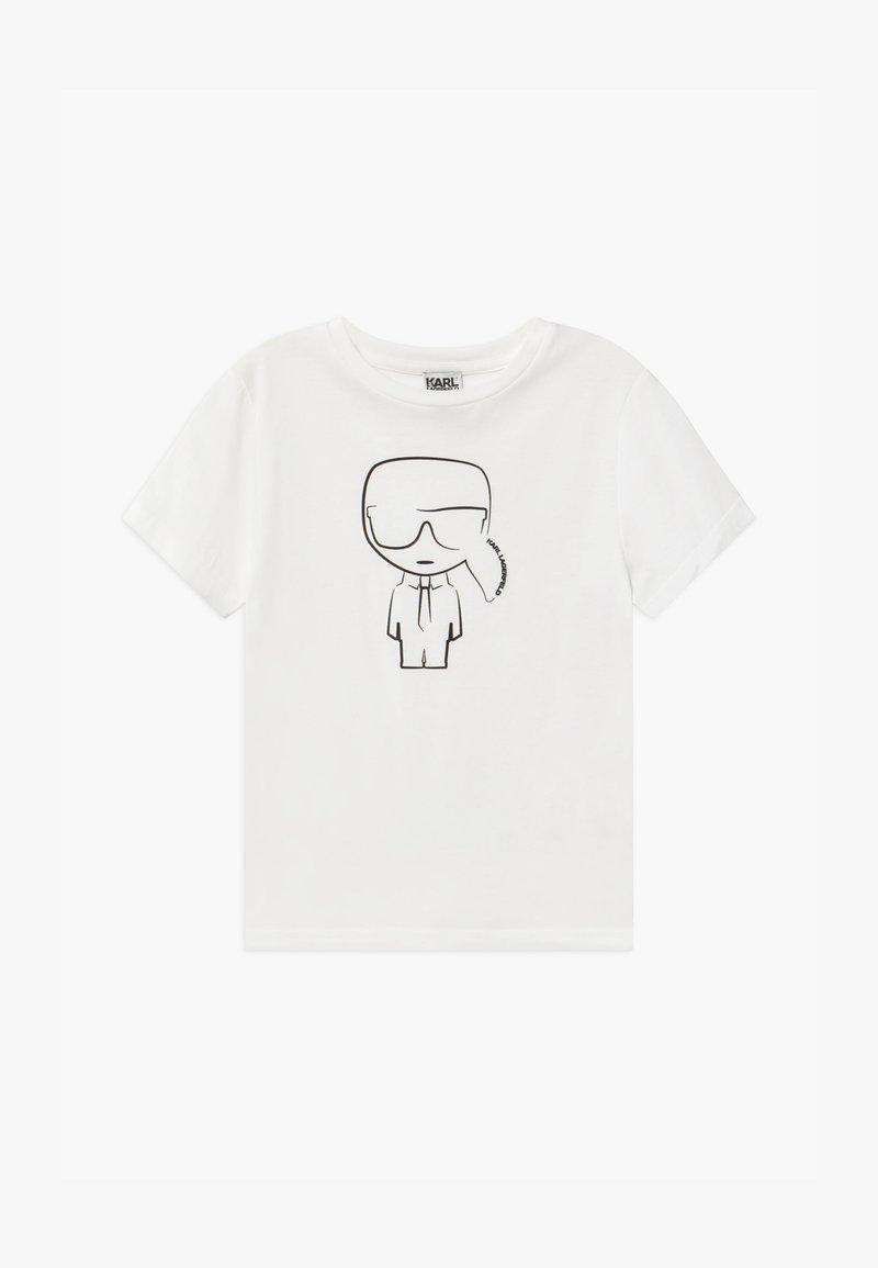 KARL LAGERFELD - SHORT SLEEVES TEE - Print T-shirt - white