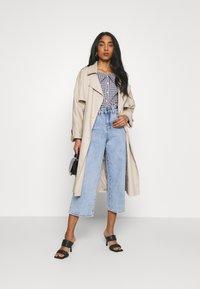 Object - OBJMARINA - Relaxed fit jeans - light blue denim - 1