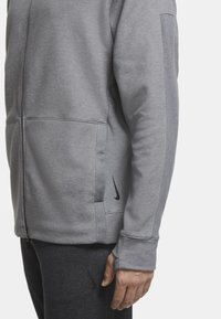 Nike Performance - Zip-up hoodie - iron grey/htr/(black) - 7