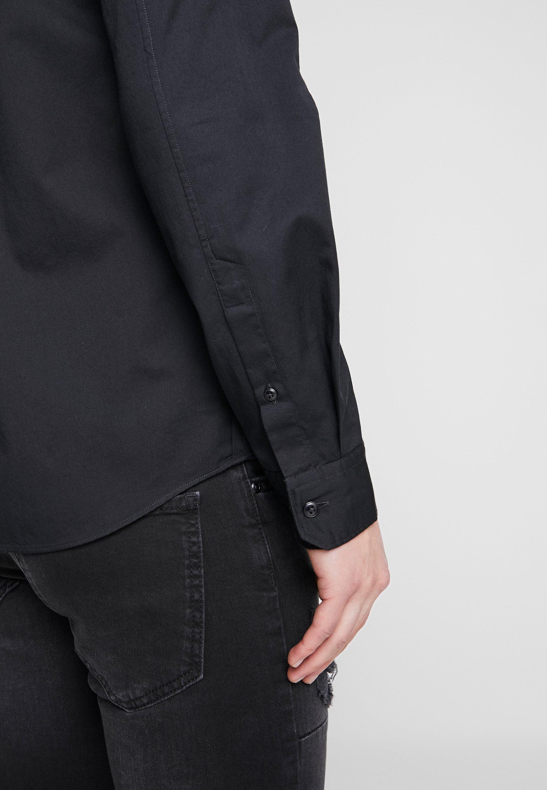 Junk De Luxe Skjorte black Zalando.no