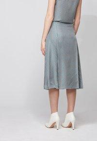 BOSS - VIMAS - A-line skirt - patterned - 2