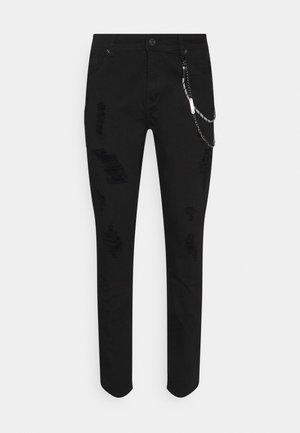 BRUCE REGULAR - Jeans slim fit - black