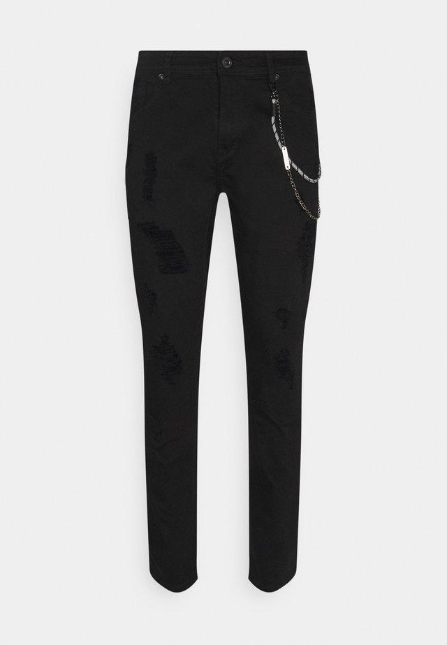 BRUCE REGULAR - Jean slim - black