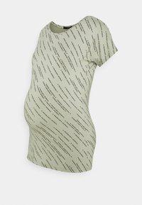 Supermom - TEE TEXT - Print T-shirt - seagrass - 0