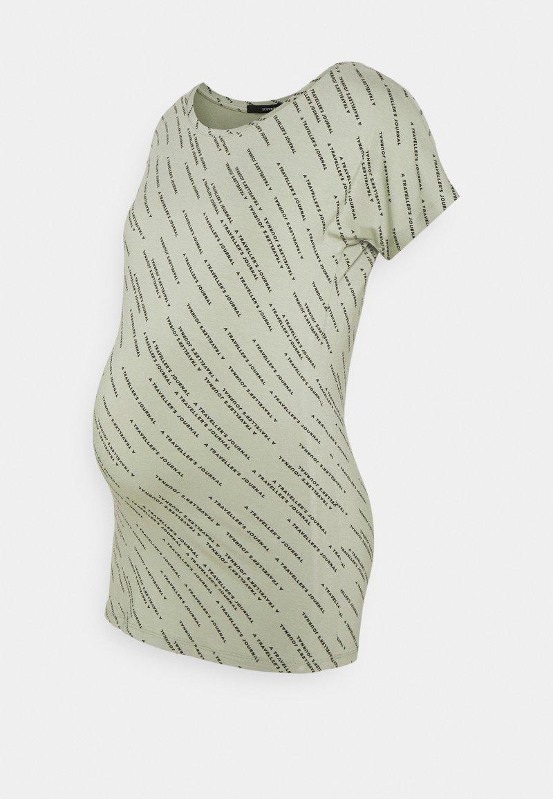 Supermom - TEE TEXT - Print T-shirt - seagrass