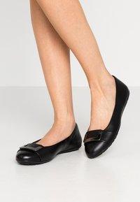 Caprice - Ballet pumps - black - 0