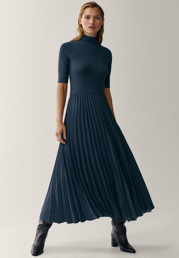 Massimo Dutti - Maxi dress - blue