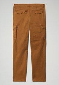 Napapijri - MOTO - Cargo trousers - chipmunk beige - 7