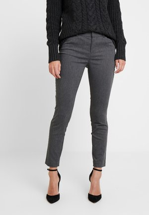 ANKLE BISTRETCH - Trousers - heather charcoal