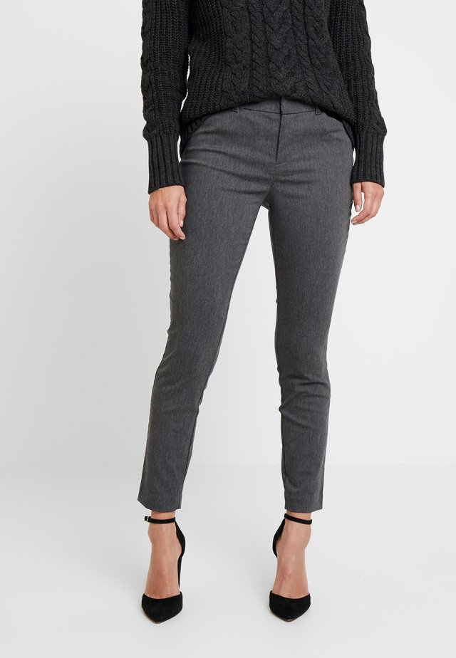 ANKLE BISTRETCH - Pantaloni - heather charcoal