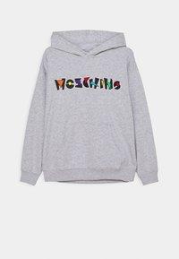 MOSCHINO - HOODED UNISEX - Sweatshirt - grey - 0