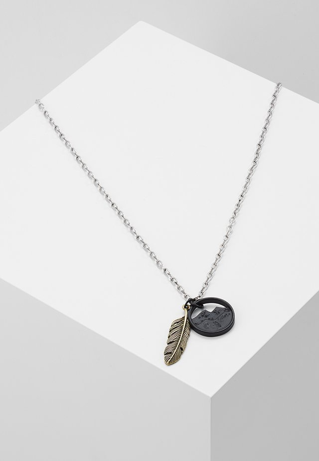SUMMIT NECKLACE - Ketting - black