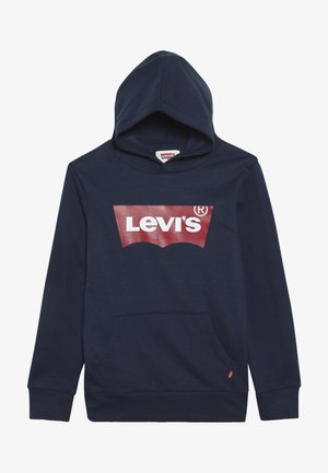 BATWING SCREENPRINT HOODIE - Jersey con capucha - dress blues