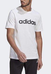adidas Performance - Triko spotiskem - white black - 3
