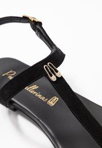Pretty Ballerinas - ANGELIS - T-bar sandals - black - 2