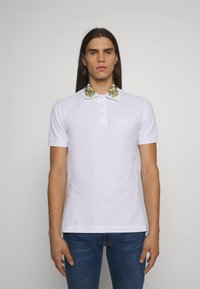 Versace Jeans Couture - Poloshirt - bianco/gold - 0