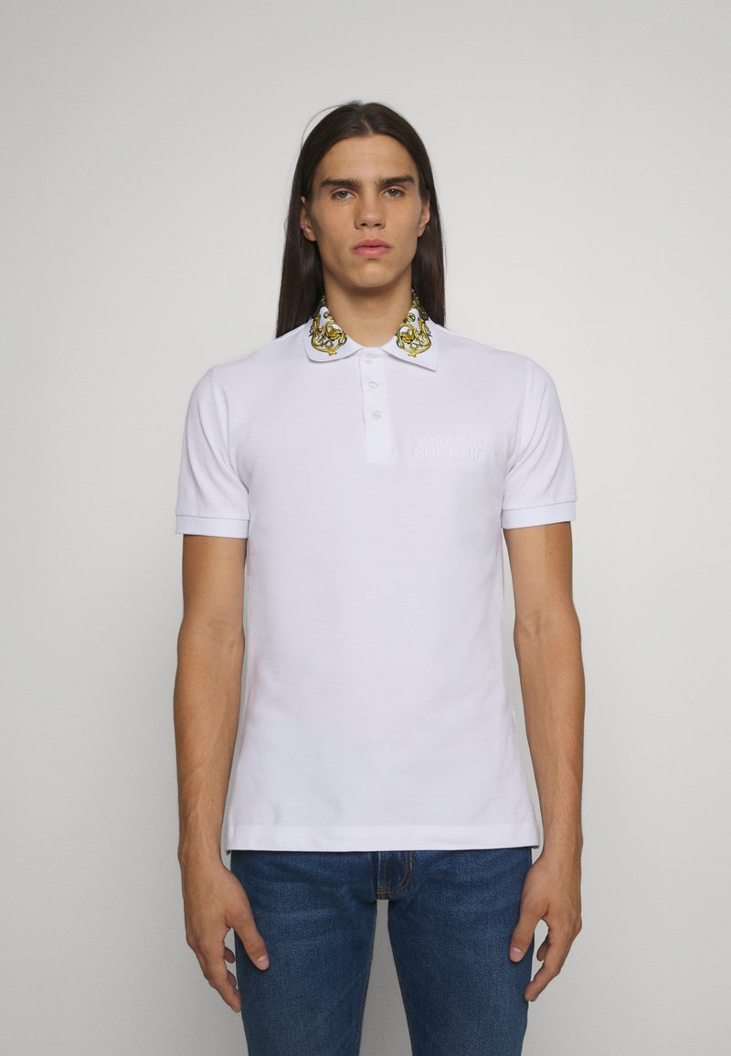 Versace Jeans Couture - Poloshirt - bianco/gold