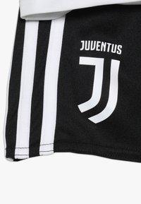 adidas Performance - JUVENTUS MINI SET - Sports shorts - black/white - 3