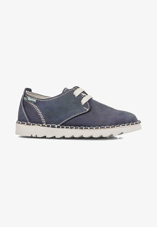 Zapatos con cordones - azul