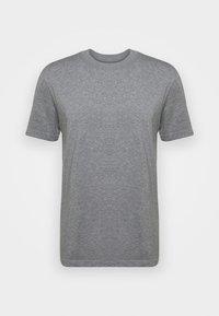 SLHRELAXCOLMAN O NECK TEE - T-shirt basic - medium grey melange