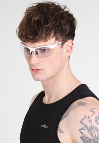 Uvex - SPORTSTYLE 802 SMALL V - Sports glasses - white - 0