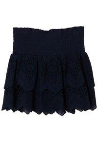 s.Oliver - Mini skirt - blue - 2