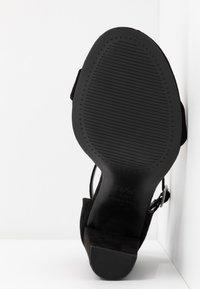New Look Wide Fit - WIDE FIT TARONA - Sandály na vysokém podpatku - black - 6