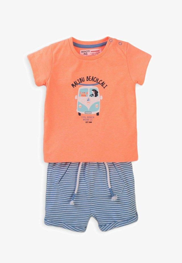2 SET - Shorts - orange