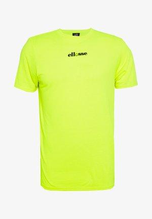 RAPALLO - Printtipaita - neon yellow