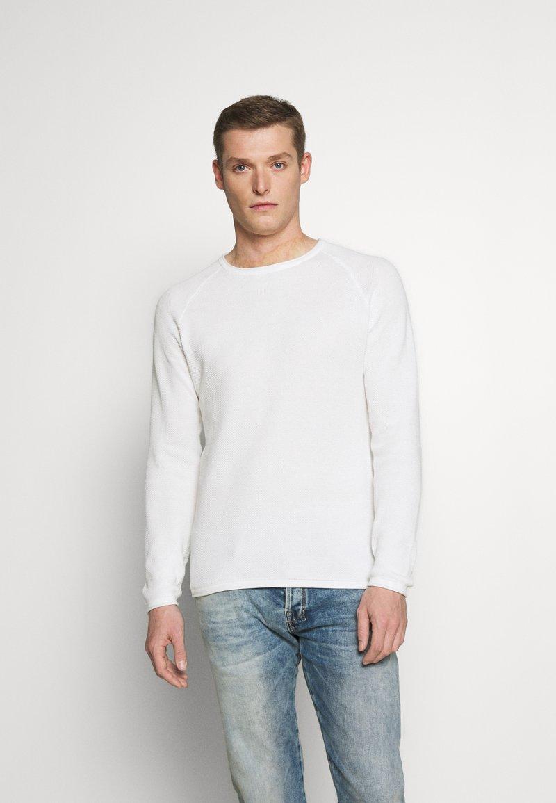 Key Largo - Stickad tröja - offwhite