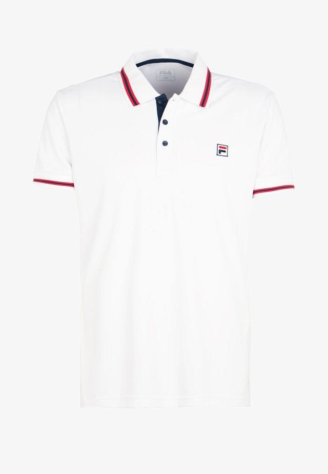 PIRO - Camiseta de deporte - weiß