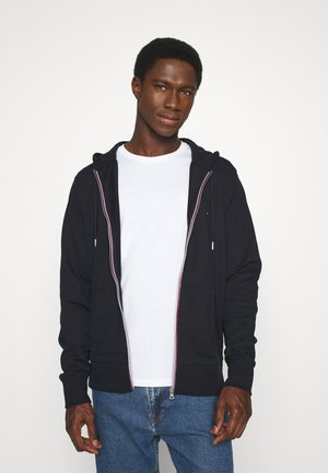 CORE C ZIP HOODIE - Zip-up hoodie - blue