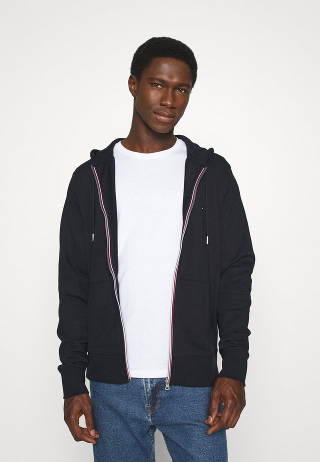 CORE C ZIP HOODIE - veste en sweat zippée - blue