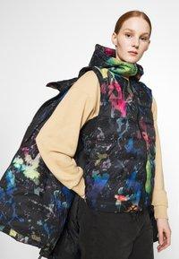 Diesel - JANUA - Winter coat - black/multicolour - 6