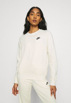 Sweatshirt - coconut milk/black
