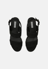 Nly by Nelly - CASUAL LOW BLOCK - Sandały - black - 3