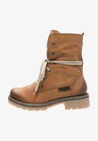Rieker - Šněrovací kotníkové boty - cayenne/kastanie/braun - 1